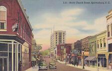 North Church Street , Spartanburg , South Carolina, 30-40s