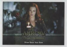 2017 Cryptozoic Arrow Season 3 #22 Draw Back Your Bow Non-Sports Card 2a1