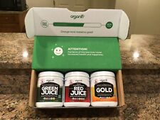 Superfood Powder - Organifi Sunrise to Sunset You Get All Three Red-Gold-Green