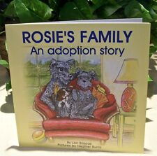 Rosie's Family Rosies An Adoption Story Lori Rosove Heather Burrill Rare OOP New