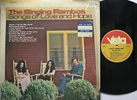 Country Lp The Singing Rambos Songs Of Love & Hope On Vista