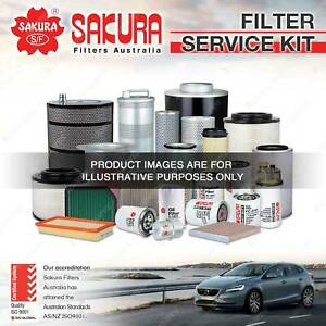 Sakura Oil Air Fuel Filter Service Kit For Mitsubishi FTO Import 2.0L 94-01