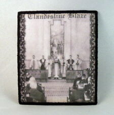 CLANDESTINE BLAZE Deliverers of Faith (Printed Small Patch) (New)