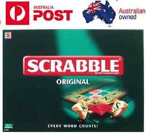 AU Scrabble Game Kid Adult Educational Toy Hot Fun Party Game Family Board Game