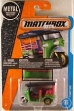 MATCHBOX #6 Tuk-Tuk Taxi, 2017 issue; NO tampo on rear (NEW in BLISTER)