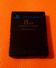 OFFICIAL SONY PS2 8MB MEMORY CARD NICE CONDITION PLAYSTATION 2 SCPH-10020