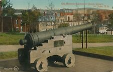 SAINT JOHN NB – Old Historic Cannon in Queen Square St. John