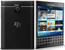 Blackberry Passport Black Smartphone 32GB Memory B Grade Unlocked Excellent