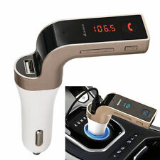 4-in-1 Gadget Car Bluetooth FM Transmitter with USB Power Charger and MP3 Player