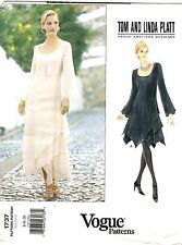 Vogue Sewing Pattern Women's DRESS MAXI Tom & Linda Platt 1737 Sz 6-8-10 UNCUT