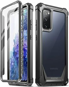Samsung Galaxy S20 FE 5G Case,Hybrid Shockproof Bumper Protective Cover Black