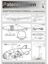 Zeppelin Komplettsammlung mit über 1100 Patenten!