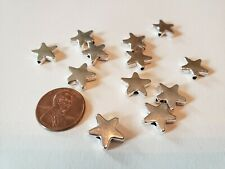 12 PC Lot Star Loose Spacer Beads Charms Jewelry Making DIY Tibet Silver