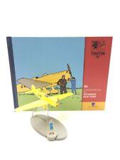 En Avion Tintin le prototype c.48 testament de m.pump  N46 + livret