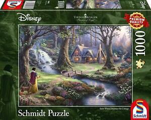Thomas Kinkade Snow White 1000 Piece Jigsaw Puzzle