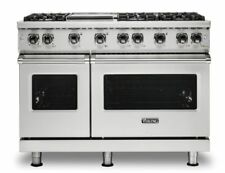 Viking Vgr5488bss 48 Professional 5 Series Gas Range 8 Burners Dishwasher