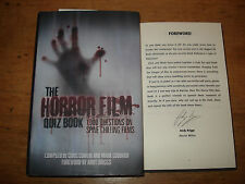 The Horror Film Quiz Book:, Mark Goddard SIGNED BY ANDY BRIGGS,H/B 2009