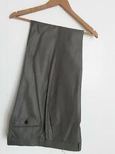 Mens Zara Man Tailoring Grey Trousers. Size 34w 33l,  80% wool/20% silk. BNWT