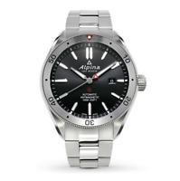 Alpina Alpiner Automatic Men's Silver Tone Black Dial Watch AL-525BS5AQ6B