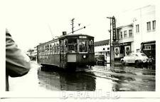 9A338 NEG/RP 1940s?  KEY SYSTEM RAILWAY CAR #717 11-LINE E 14th ST