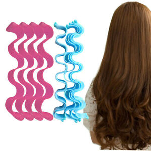 12/24PCS Water Wave Magic Curlers Formers Leverage Spiral Hairdressing Tool