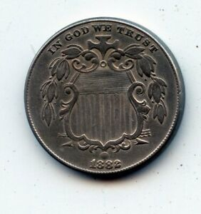 1882 Shield Nickel (SEE PROMOTION)