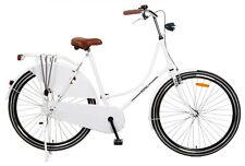 POPAL OM28 PMB Damen Holland Nostalgie Fahrrad Omafiets 28 Zoll Weiß