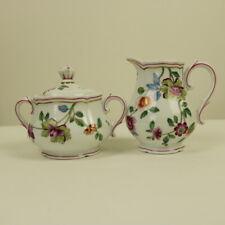 Richard Ginori Italy Porcelain GRANDUCA COREANA Milk Jug & Sugar Bowl