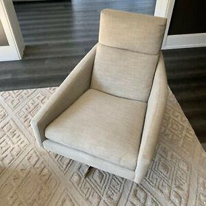 West Elm Austin Swivel Chair