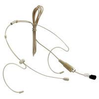 Pro Head Mic Headset Microphone F AKG Wireless System Transmitter TA3F 3 Pin XLR