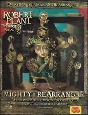 Led Zeppelin Robert Plant & the Strange Sensations Mighty Rearranger 8 x 11 ad
