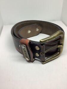 "Levis Leather Brown Belt 40"" Long"