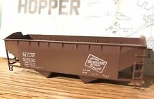 Athearn 34-Ft 2 Bay Hopper Milwaukee Road New In Box!!