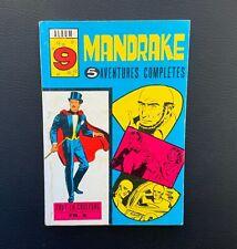 Mandrake album n°9 du n°180 à 185. Remparts 1968. TBE