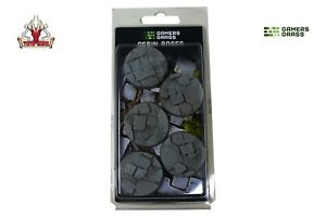 Gamers Grass Temple Resin Bases Round 40mm (x5) New