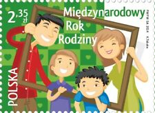Poland / Polen 2014 - Mi 4677** International Year of Family