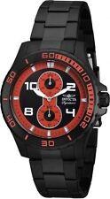 Schwarze Silber Armbanduhren aus Edelstahl