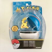 Pokemon Pikachu and Great Ball TOMY Brand New and Sealed