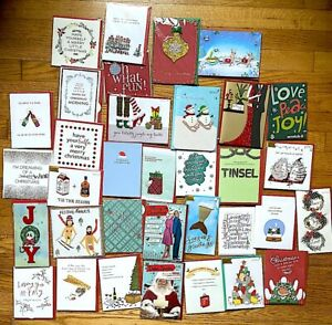 HUGE  Lot of 84 New Papyrus Christmas Holiday Greeting Cards Value oft $2.50ea
