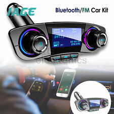 Bluetooth-Auto-MP3-Musik-Player FM-Sender Wireless Radio + 2 USB-Ladegerät AHS