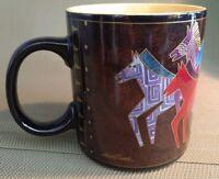 Coffee Mug Laurel Burch Artistic Mug Collection Native Horses.