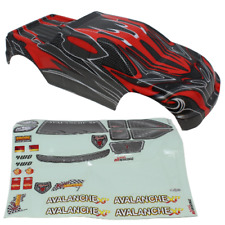 Redcat Racing 08311 1/8 Truck Body Red and Black 08311
