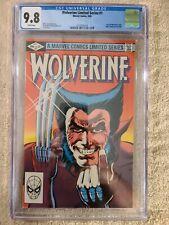 Wolverine Limited Series #1 - CGC 9.8 WP - 1st Solo Wolverine - Yukio
