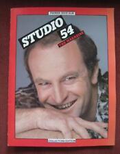 Early 1980's Studio 54 The Magazine Premier Collector's Edit. Peter Allen Cover