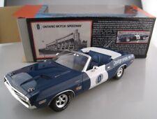 Dodge Challenger ONTARIO MOTOR SPEEDWAY PACE CAR  Greenlight  1:18  NEU