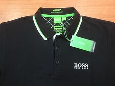 Men's Hugo Boss Green label Polo Shirt Paddy Pro-EDITION,BLACK,,Size-3XL/XXXL.