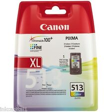 Canon CL-513, CL513 Original OEM Color Cartucho Inyección De Tinta Para MP495