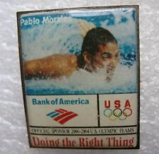 Pin's Nageur Pablo Morales Bank Of America USA JO Doing the right thing  #503