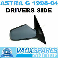 VAUXHALL ASTRA G NEW MANUAL PRIMED WING MIRROR DRIVERS OFF SIDE HATCH & VAN