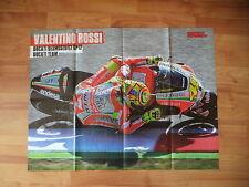 POSTER ANNO 2012 - VALENTINO ROSSI e DUCATI DESMOSEDICI GP12